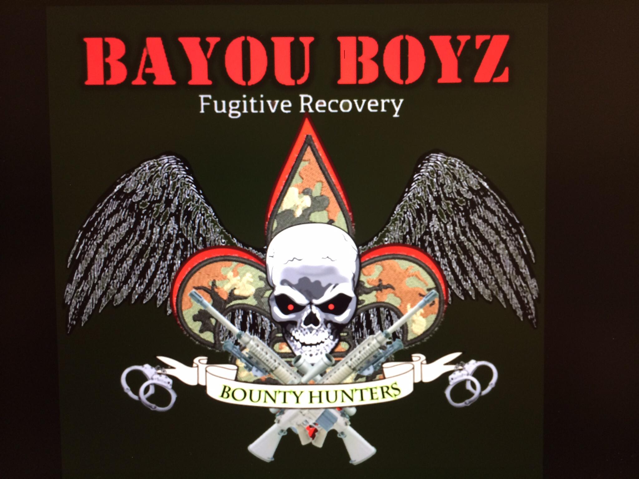 Bayou Boyz Fugitive Recovery Logo