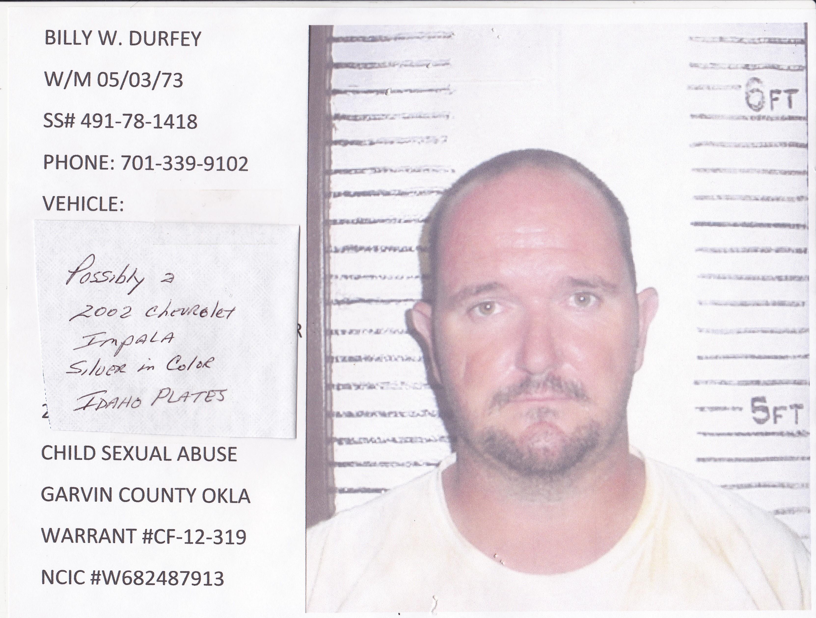Billy Durfey